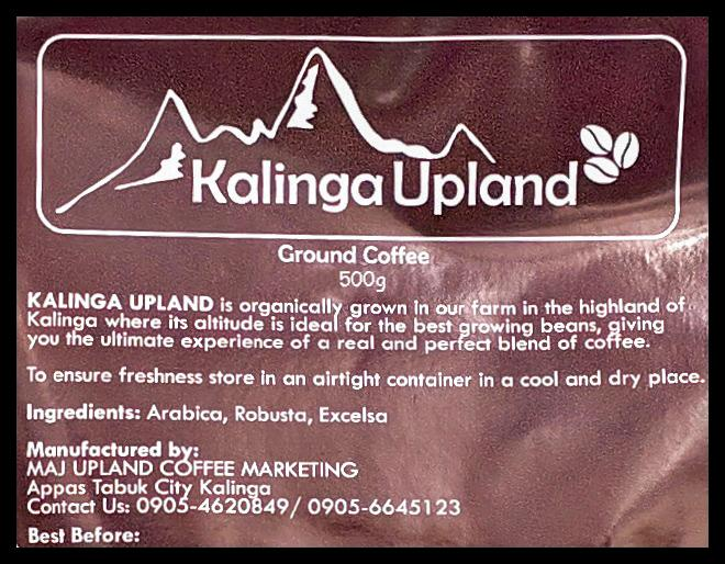 Kalinga Upland Coffee Ground (500g) - Organics.ph