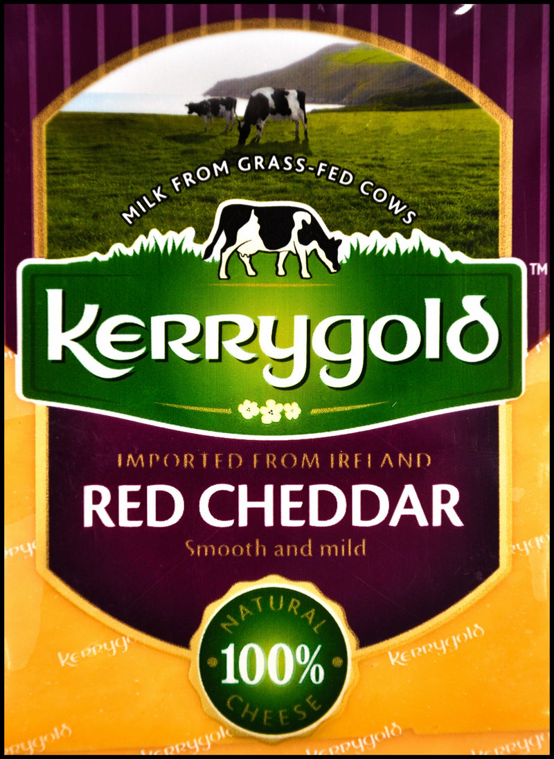 Kerrygold Grass-fed Cheese - Red Cheddar (150g) - Organics.ph