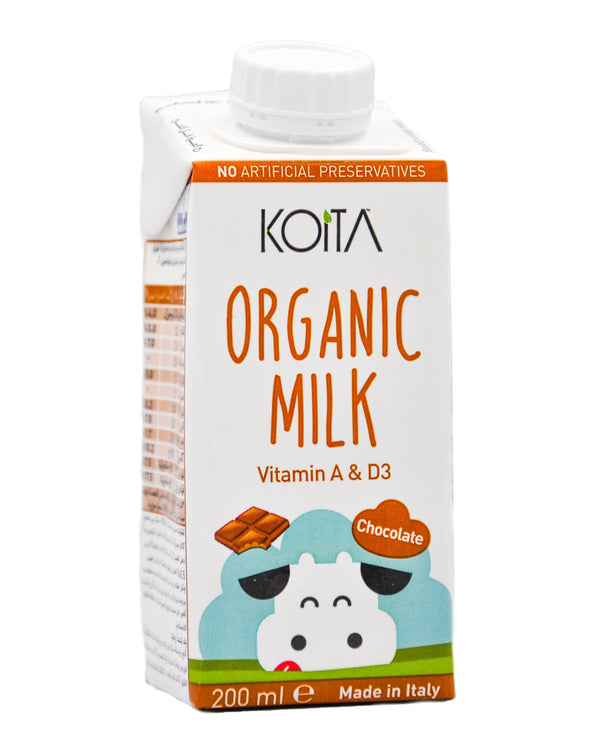 Koita Organic Milk - Chocolate (200ml) - Organics.ph