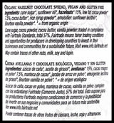 La Vida Organic Hazelnut Chocolate Spread (600g) - Organics.ph