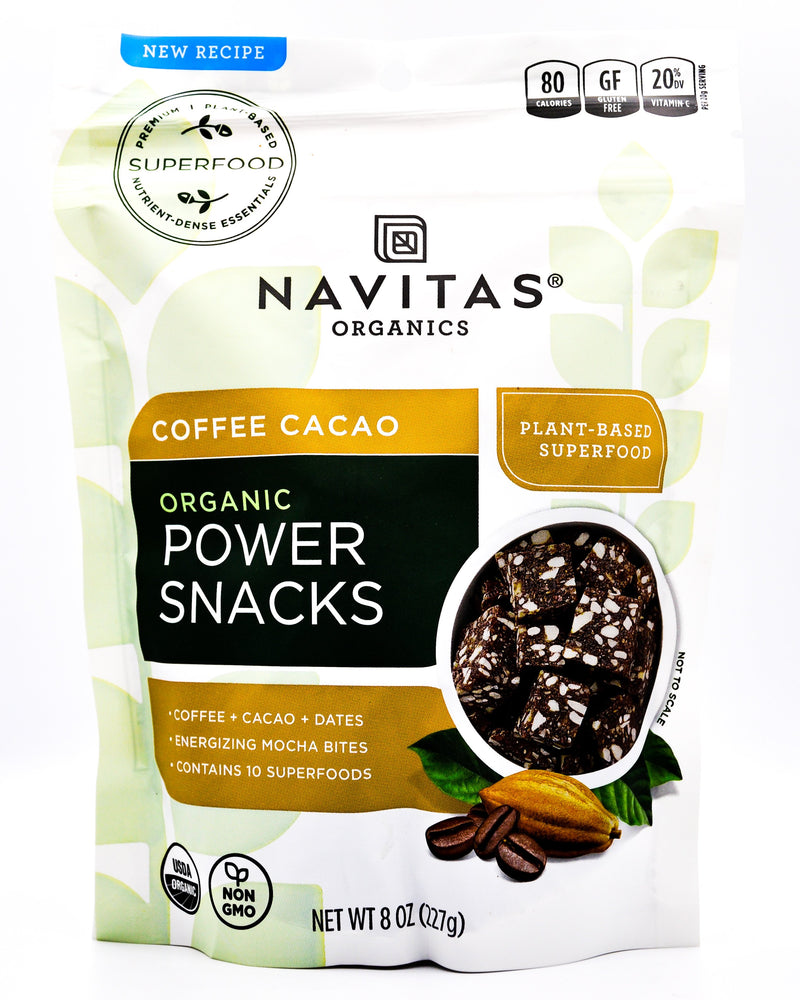 Navitas Organics Power Snacks - Coffee Cacao - Organics.ph