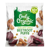 Only Organic Baby Snacks 10+ months - Beetroot Puffs (20g) - Organics.ph