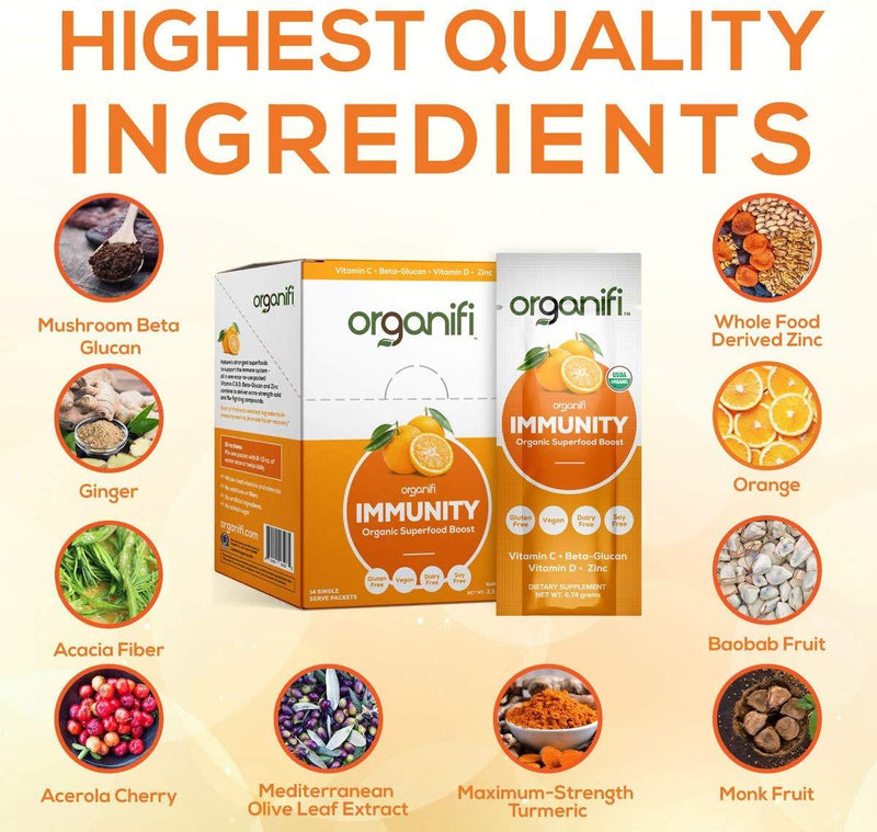 Organifi Immunity Superfood Boost (1 sachet) - Organics.ph