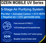 Ozein Mobile UV Series - Organics.ph