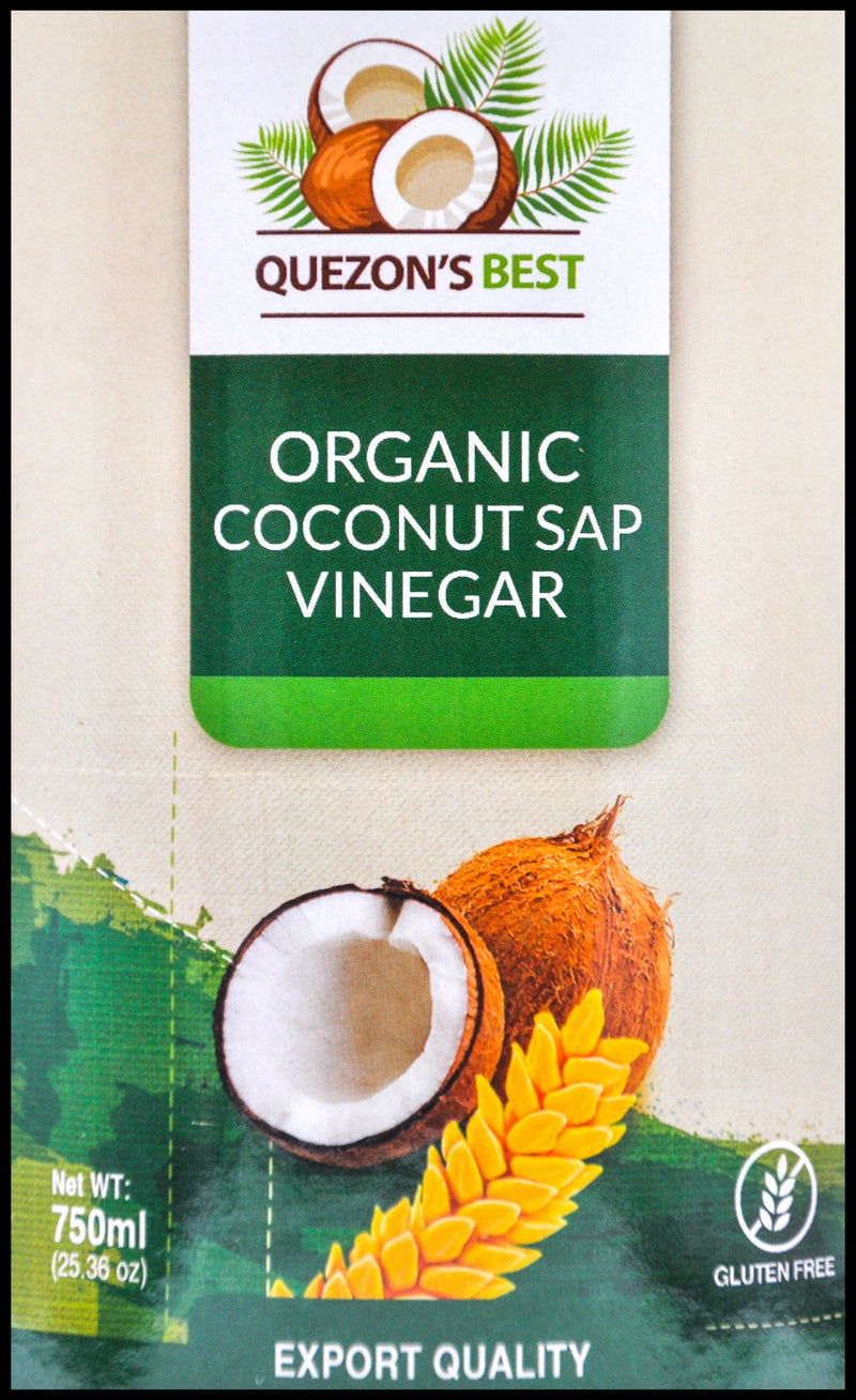 Quezon's Best Coconut Cider Vinegar (750ml) - Organics.ph