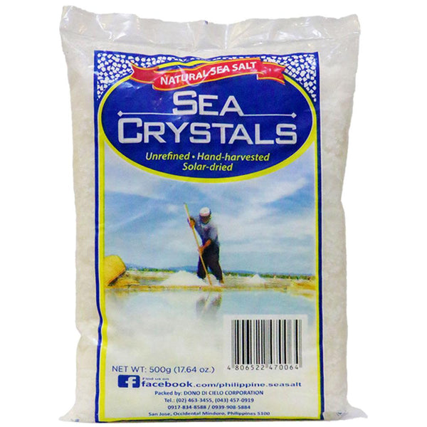 Sea Crystals Natural Sea Salt - Organics.ph