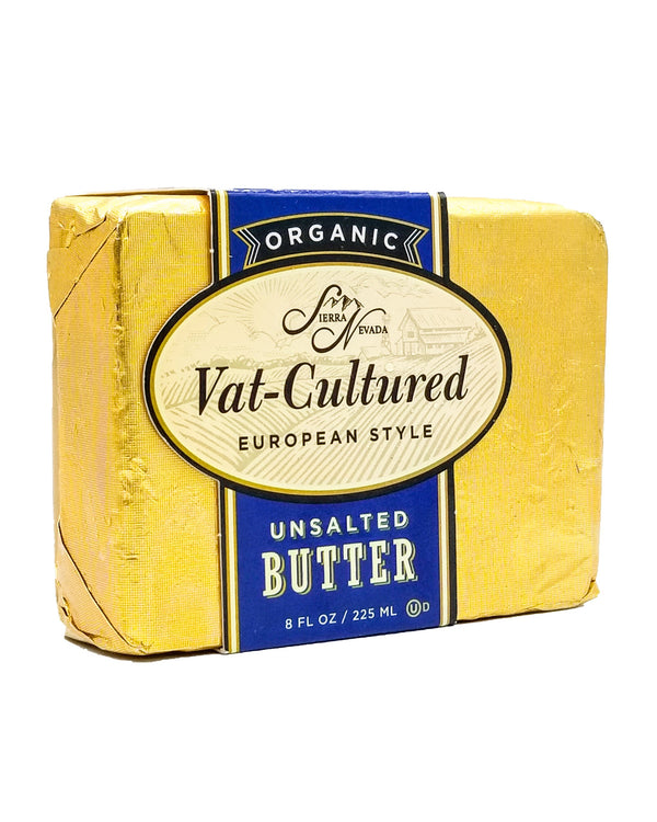 Sierra Nevada Organic Vat Cultured Butter - Unsalted (225ml) - Organics.ph