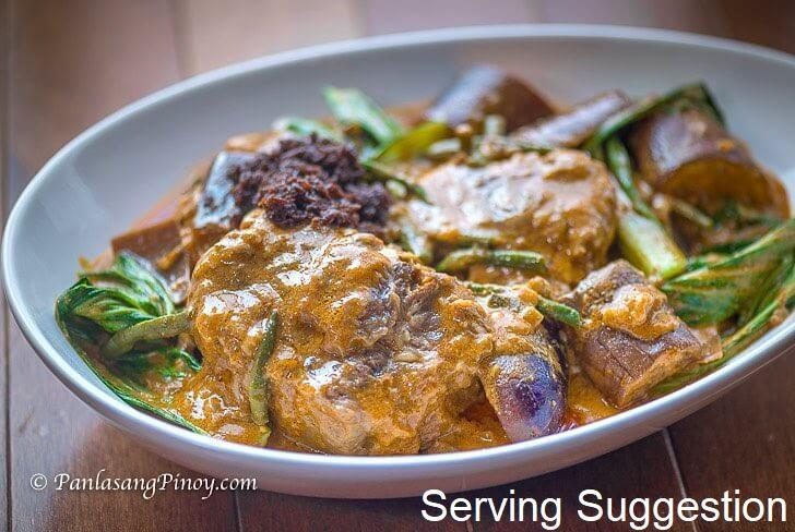 Sourced Beef Kare Kare - Ready to Cook (150g) - Organics.ph