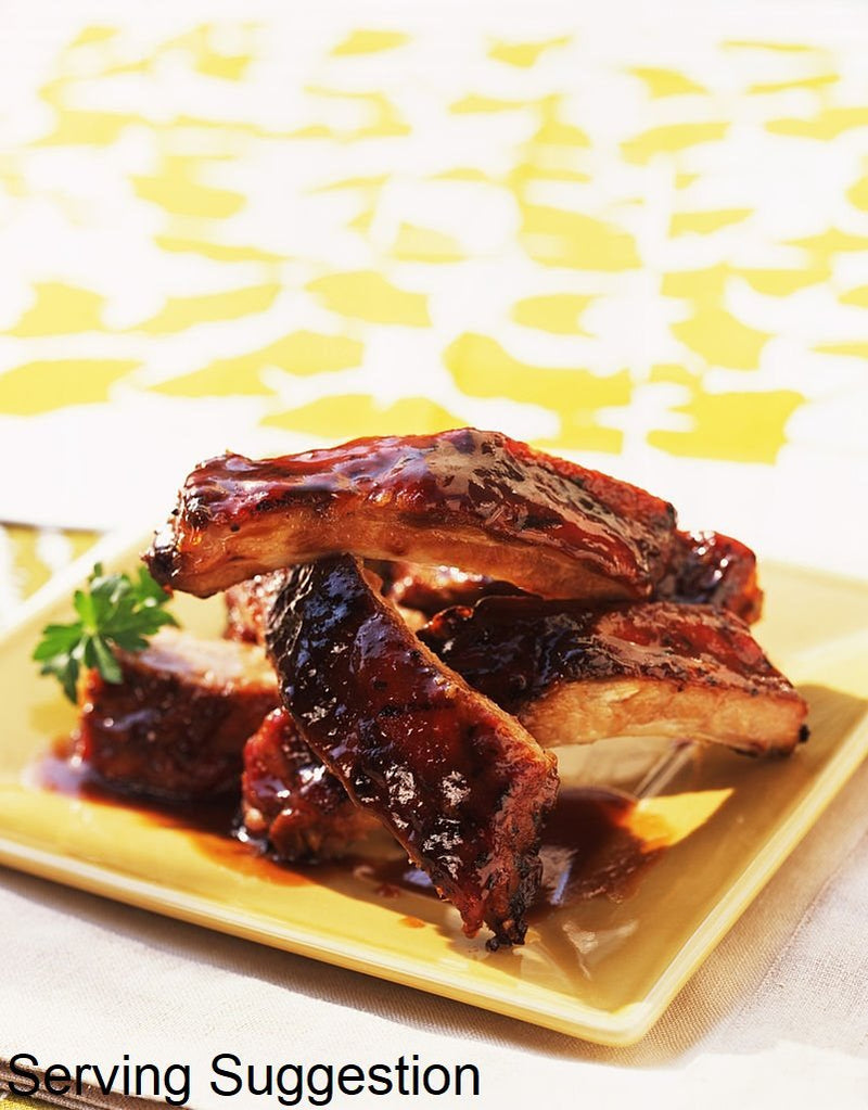Sourced Pork Baby Back Ribs 500g - Organics.ph