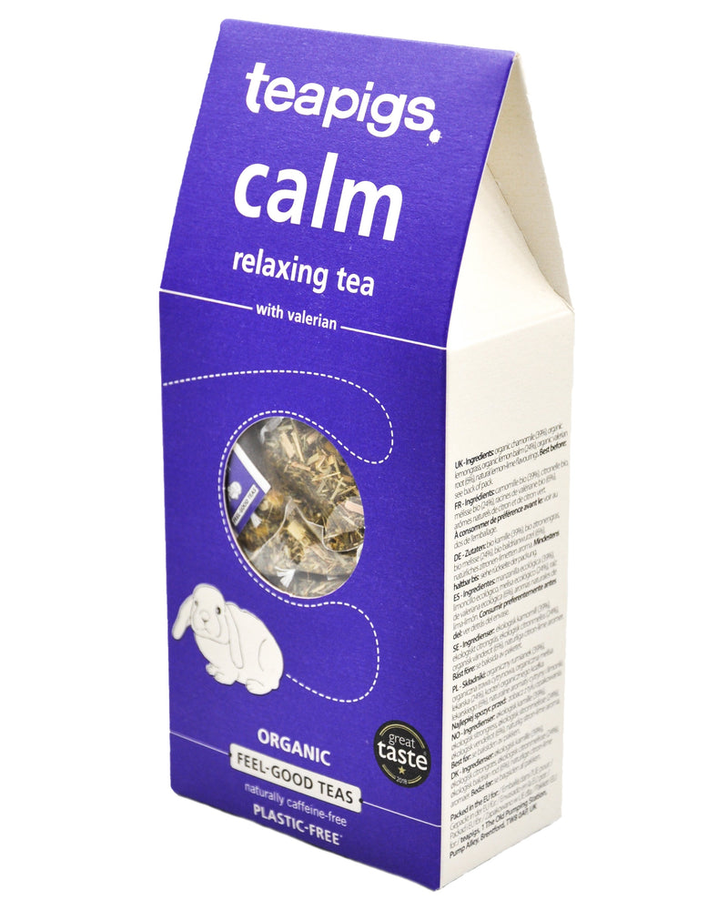 Teapigs Organic Tea - Calm Relaxing (15 tea bags) Calm Relaxing - Organics.ph