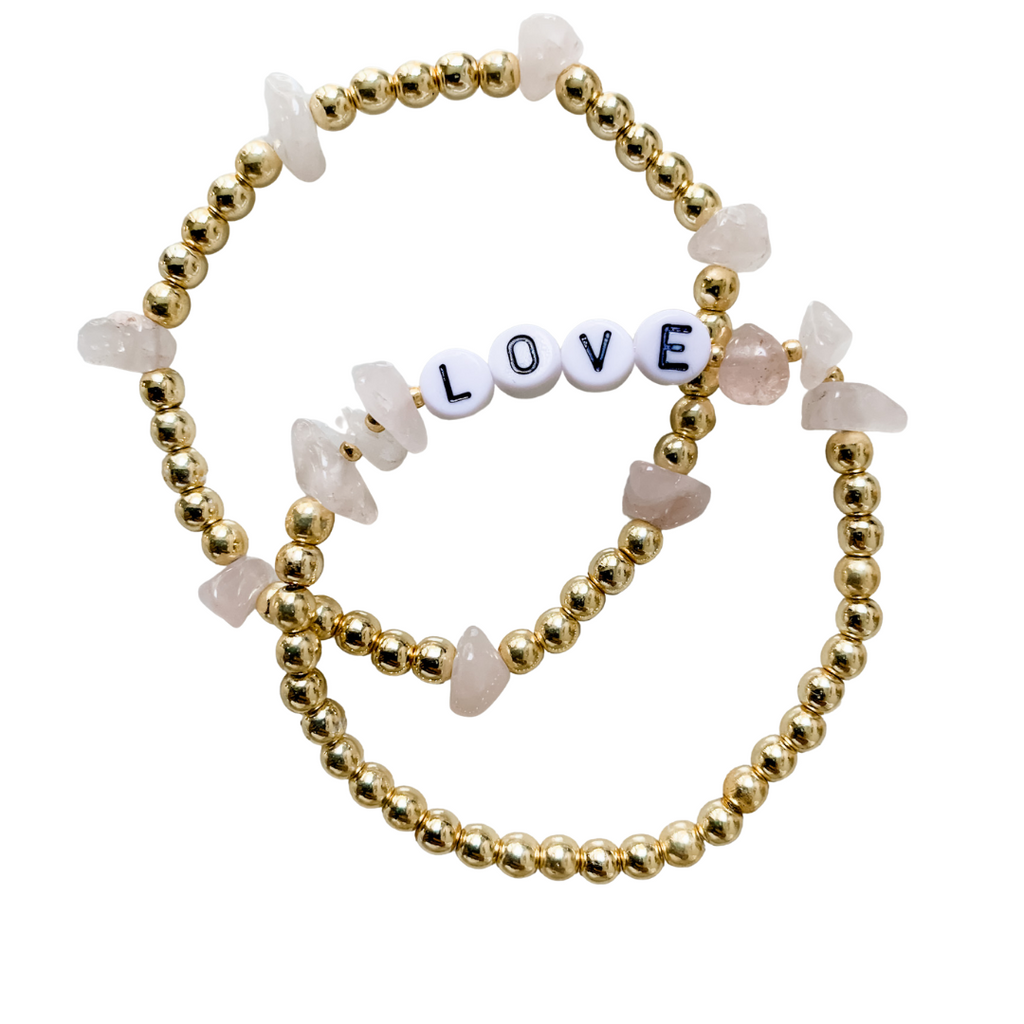 Rose Quartz Adult - GOLD