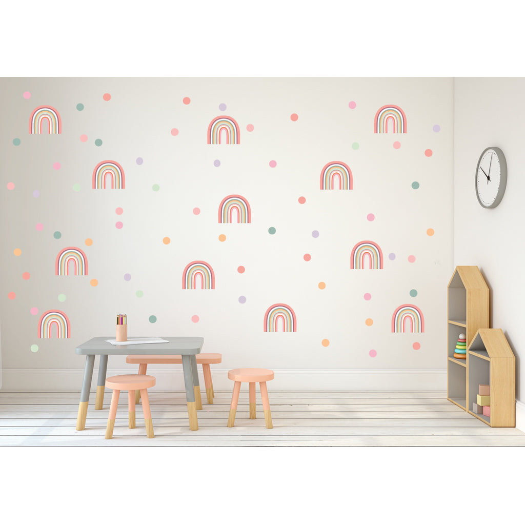 NEW Rainbow Arch Wall Decals - MIDI SIZE