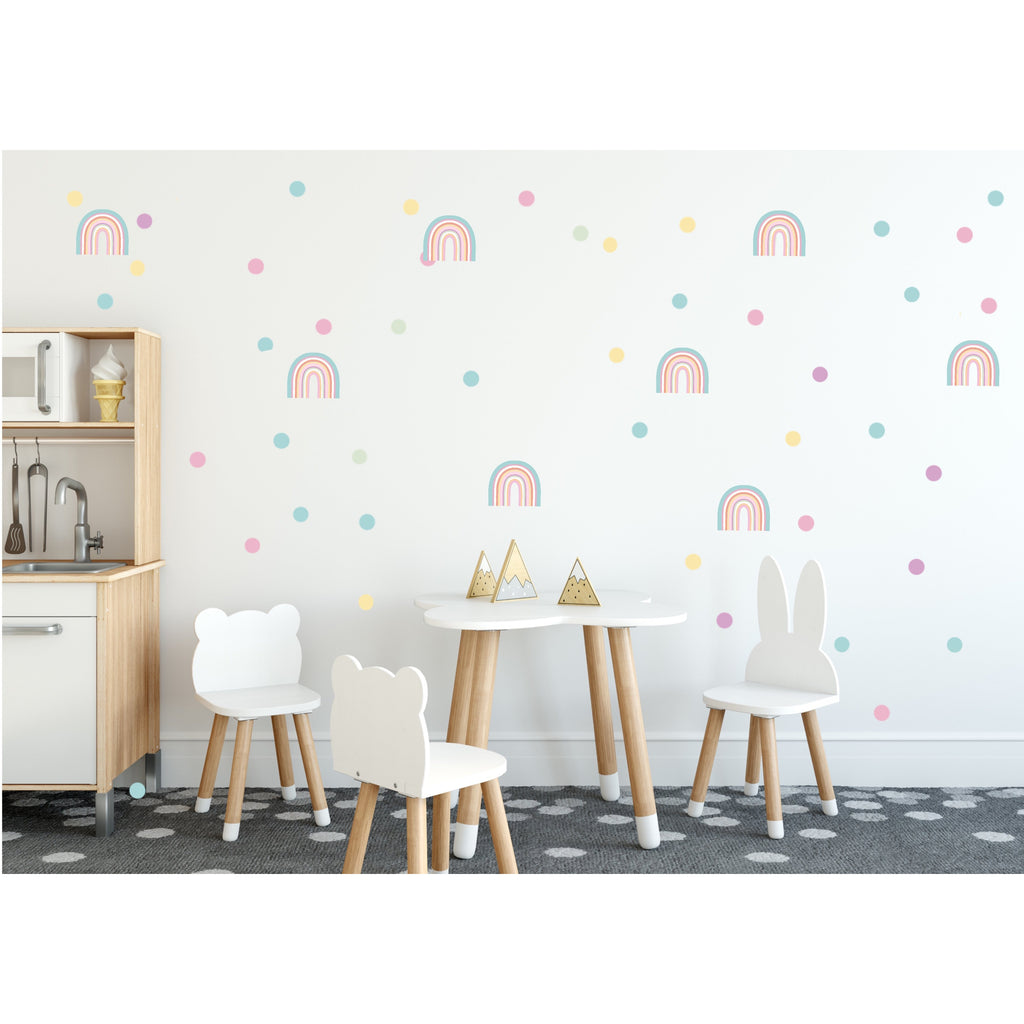 NEW Rainbow Arch Wall Decals - MINI SIZE