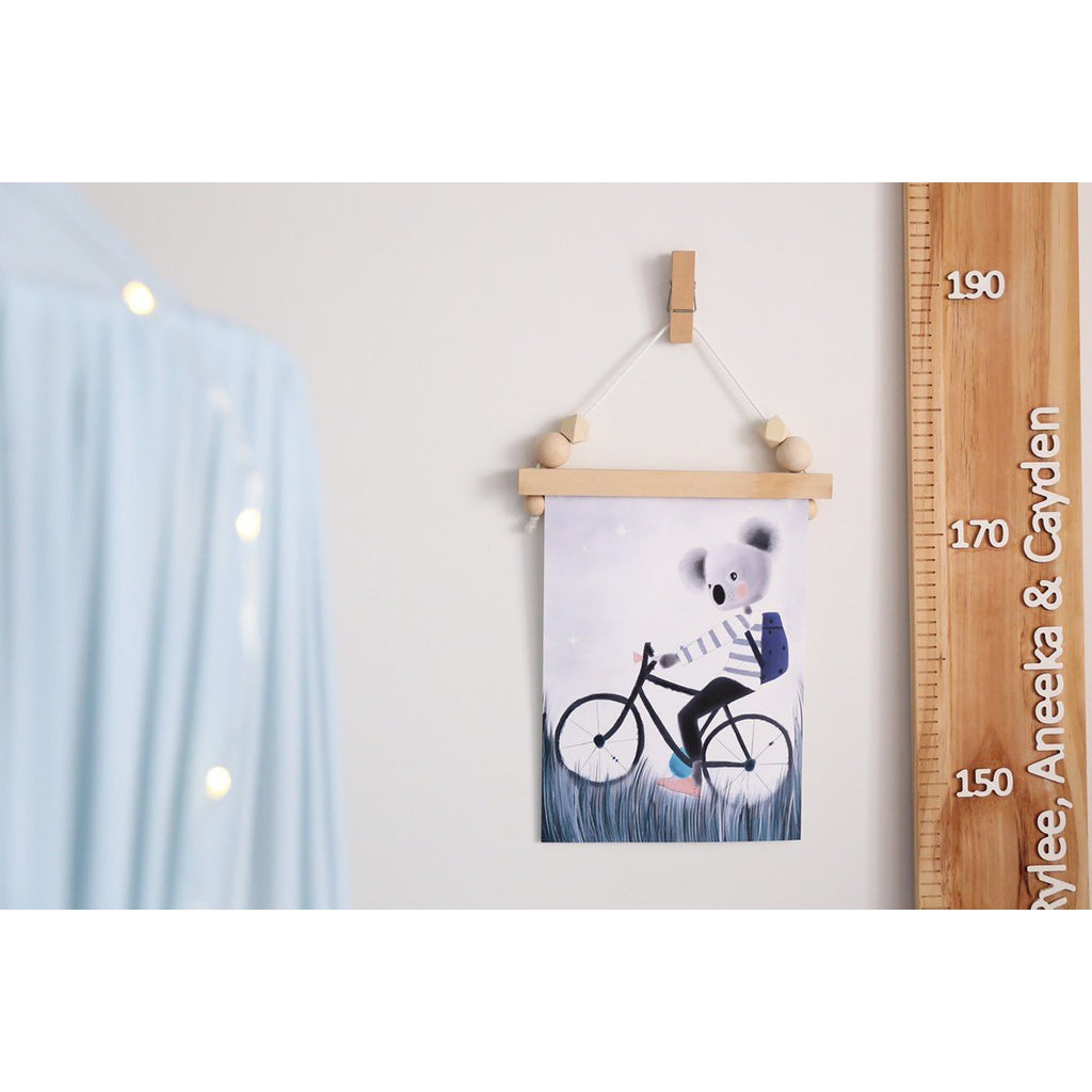New Wooden Print Hangers - HANGER ONLY