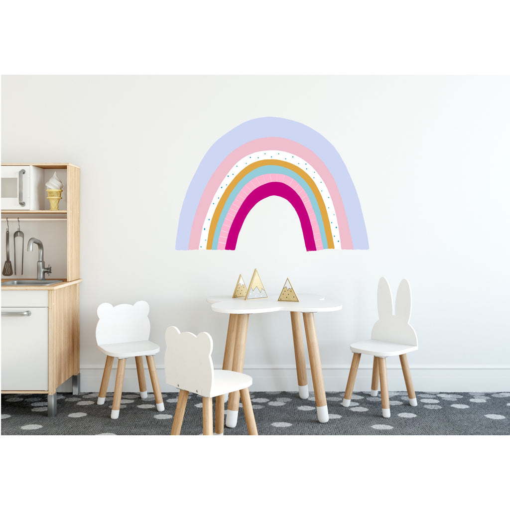 Large Rainbow Wall Decals