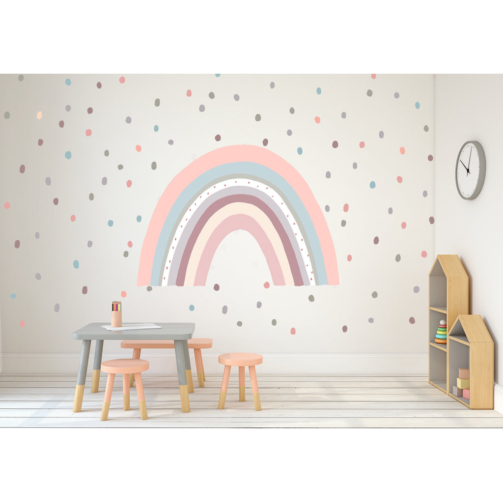 Soft Pastel Animal Spots Wall Decals