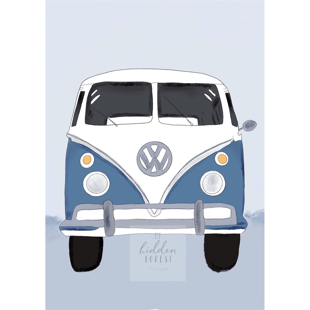 Kombi Van - Dusty Blue