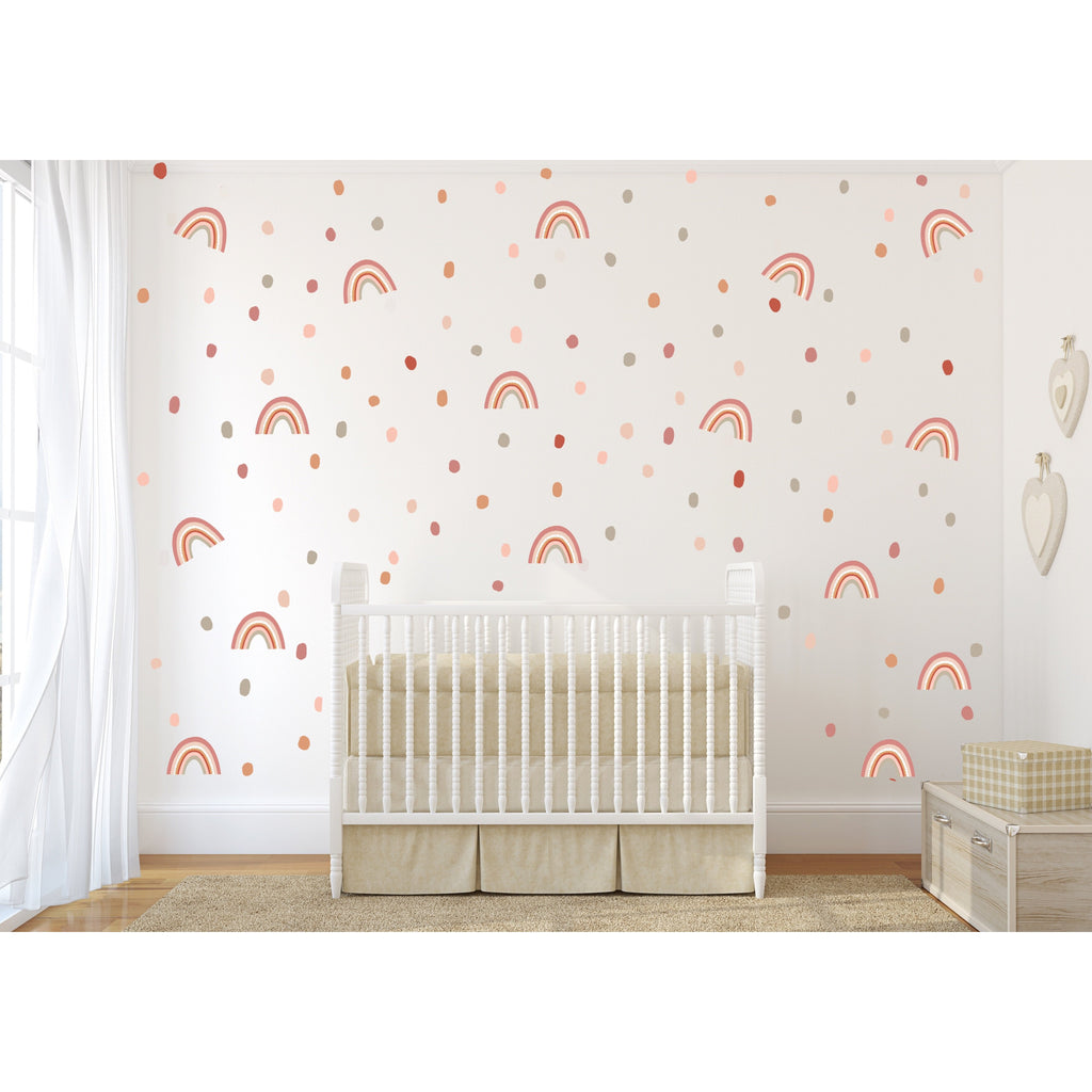 Earthy Vibes Animal Spots Wall Decals