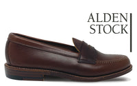 ALDEN 17831F Brown Penny Loafer, Unlined Vamp