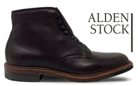 ALDEN 4512HC Brown Rusticalf Plain Toe Boot