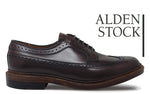 ALDEN 976 Dark Brown Long Wing Blucher