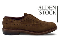 ALDEN 9794 Snuff Suede Long Wing Blucher