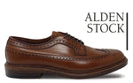 ALDEN 979 Burnished Tan Long Wing Blucher