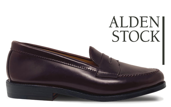 ALDEN 986 Color 8 Shell Cordovan Leisure Handsewn Loafer