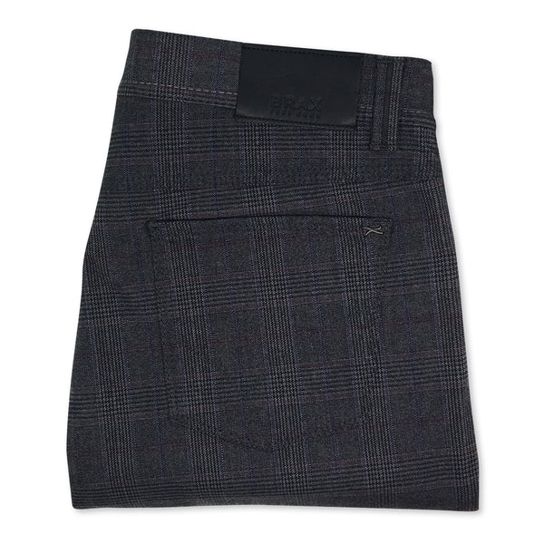 BRAX Plaid 5 Pocket Trouser