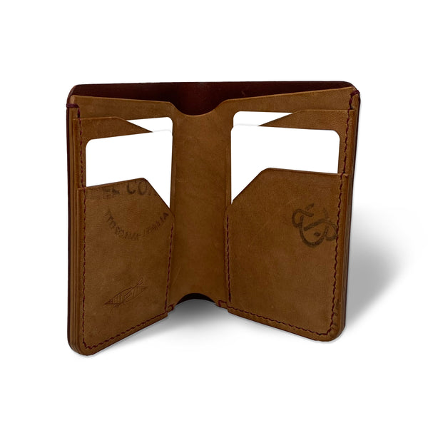 CASPER LEATHER Fly Box Wallet