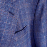 COPPLEY Blue/Brown Plaid Sport Coat