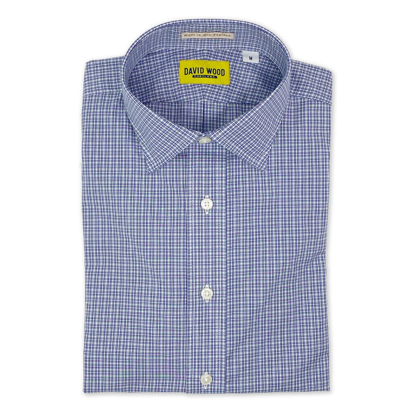 DW Blue Check Shirt