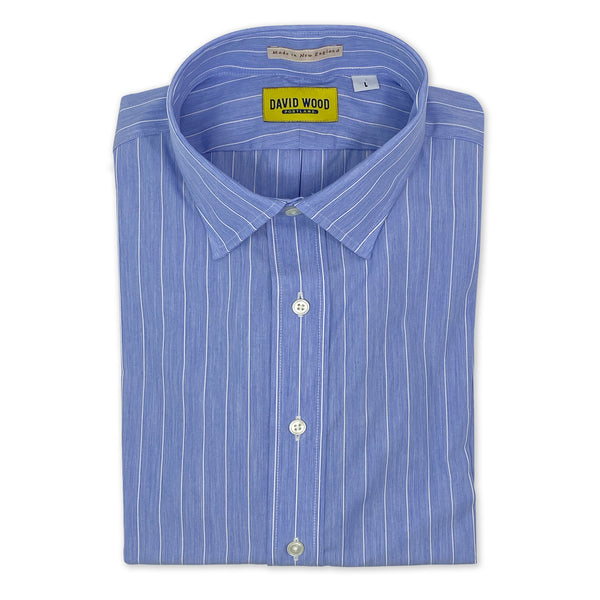 DW Blue & White Stripe Shirt