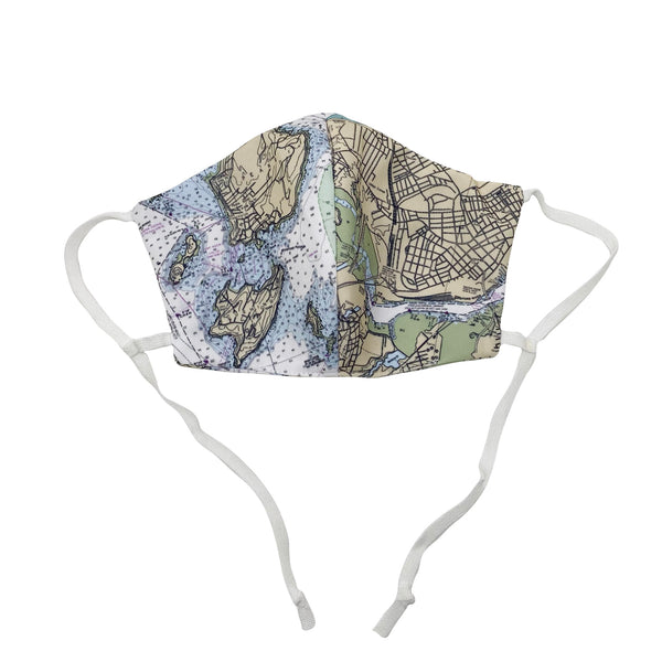 DW Portland Nautical Map Mask
