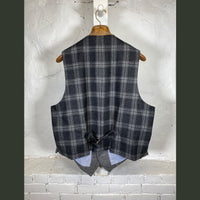 DW Grey Herringbone Vest