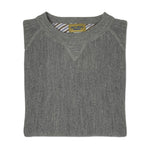 DW Lobster Motif Alpaca Sweater in Grey