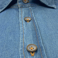 GIANNETTO PORTOFINO Chambray Shirt