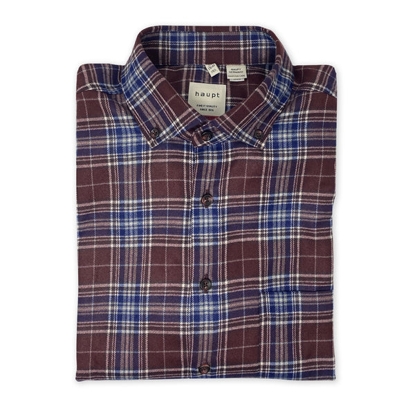 HAUPT Red Flannel Shirt