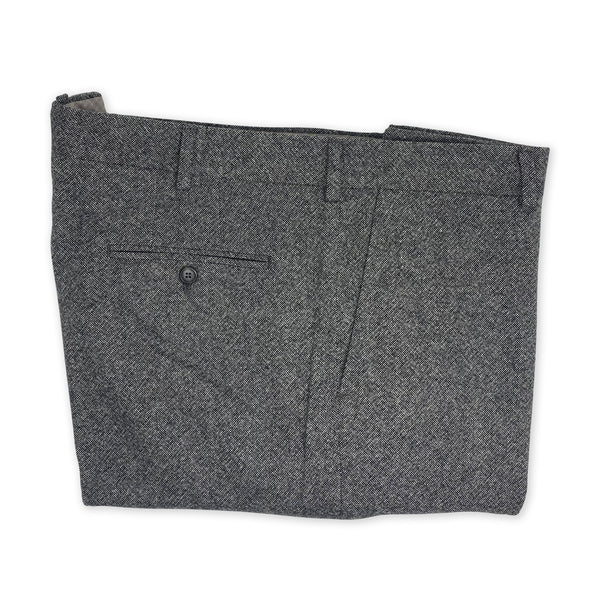 HERTLING Grey Wool Trouser