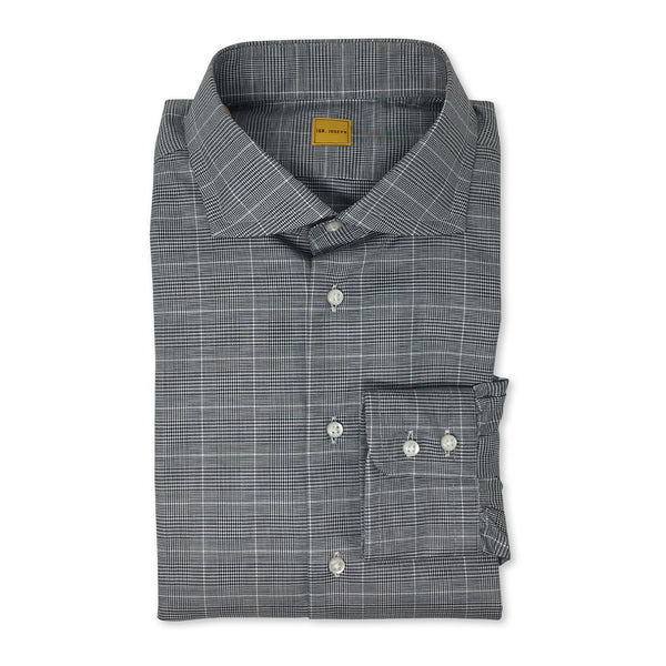 IGNATIOUS JOSEPH Grey Prince of Wales Shirt