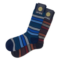 PANTHERELLA Color Block Cashmere Sock
