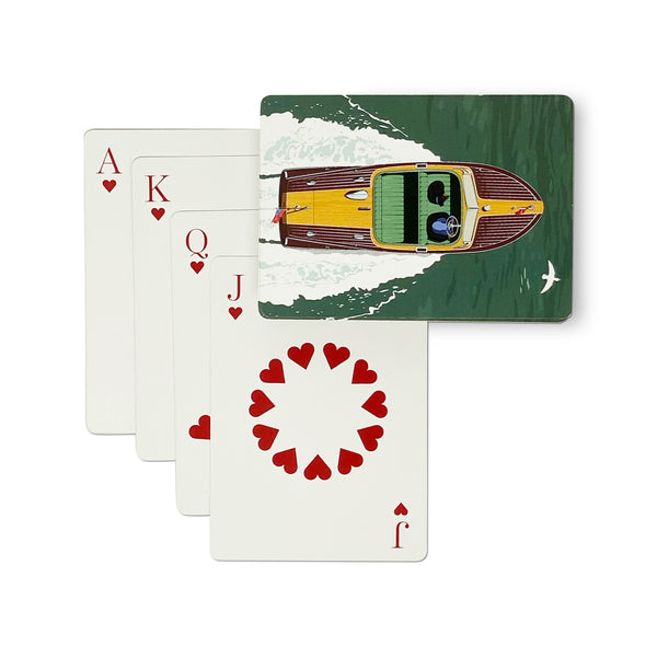 ROO KEE ROO Classic Boat Playing Cards
