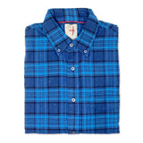 RELWEN Donegal Blue Plaid Shirt