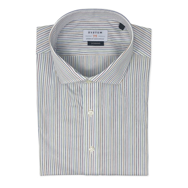 SYSTEM 75 Multicolor Stripe Shirt