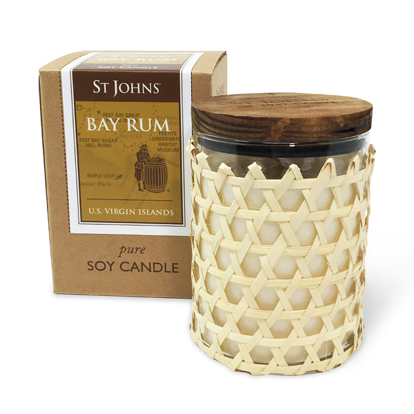 ST. JOHNS BAY RUM Candle