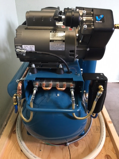 Tech West Ultra Clean Oil-less Compressor ACO4D2 (4 users)