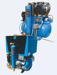 Tech West Rocky Series Oil-less Compressor ACOR2D2 (2-3 users)