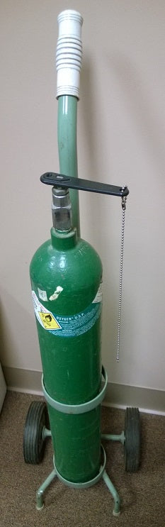 Oxygen Tank Used Dental Equipment
