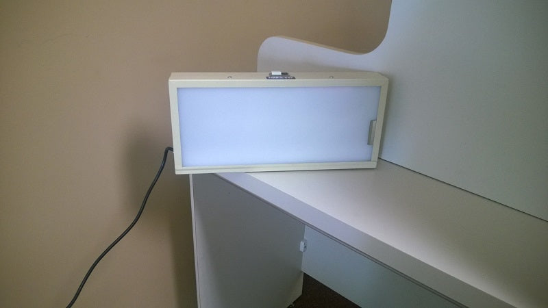 Used Dental X-ray Radiograph Film Viewer Box