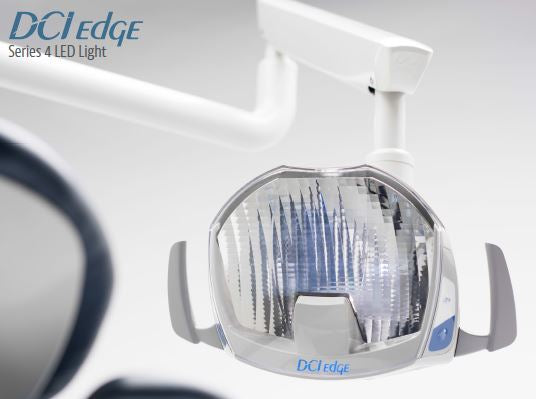 DCI Edge Series 4 LED Post Mount Operatory Light